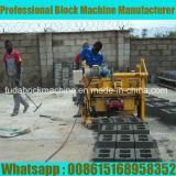 Qt40-3A Mini Block Making Machine in Senegal