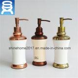 One Head Manual Brass Plating Bathroom Sanitary Liquid Soap Dispenser