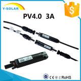3A 1000V-TUV&600V-UL Safety Fuse Connector for Solar Panel Mc4b-C1-3A