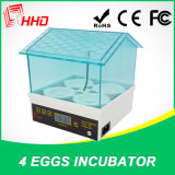 Digital Automatic Mini Hatchery 4 Egg Incubator Machine