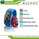 Popular Silicon Bracelet LED Watch USB Flash Drive Memory Disk