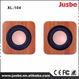 XL-104 Multimedia Desk Speaker Wooden Case DJ Sound Speaker