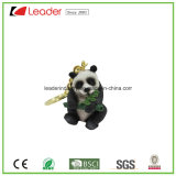 New 3D Zoo Animal Panda Figurine Keychain for Promotion