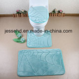 Washable 3PCS Bathroom Sets Decorate Bath Toilet Cover Seat