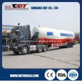 3 Axle 40 Cbm Bulk Cement Tank Truck Trailer