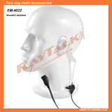 Surveillance Two Wire Earpiece with Acoustic Tube