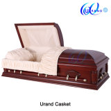 Oversize Mahogany Best Seller Chinese Factory Coffin and Casket