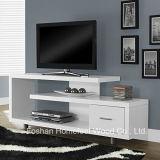 Living Room Fashion Design Wooden White TV Cabinet (HF-TVS17)