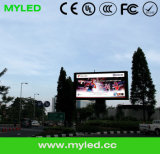 P10mm Outdoor Wall Advertising LED Display Board