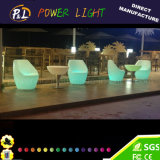 Outdoor Furniture Modern RGB Decorative Colorful LED Bar Sofa