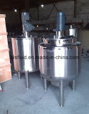 Stainless Steel Single Wall Mixing Tank