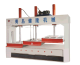 Hydraulic Subsection Cold Press Woodworking Machine