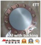 High Purity Aluminum Sputtering Target at 99.999%