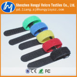 Colroful Self-Locking, Releasable Hook & Loop Velcro Cable Tie