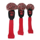Double Layer Knitted Golf Headcover