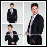 Wholesale OEM Men′s Business Formal Black Suits