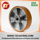 PU Wheel with Aluminum Rim