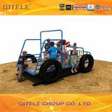 Playground Equipment PE Jeep Truck Spring Rider PE Sr-29603