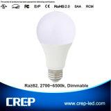 9W A19 LED Bulb Lights with E27/E14/B22 Base Type