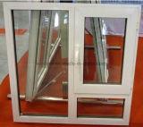 European Style Single Pane Open Inside PVC Window