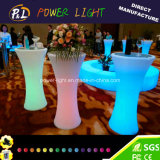 Colorful Lighted Bar LED Cocktail Table