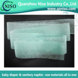 Super Soft Blue/Green Adl Nonwoven for Diaper Absorbent Core with SGS (AN-049)