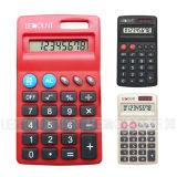 8 Digits Dual Power Small Size Pocket Calculator with Various Optional Colors (LC567)