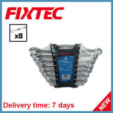 Fixtec 8PCS CRV Combination Spanner Set Hand Tools Combination Wrench