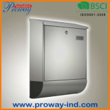 Wall Mounted Outdoor Mail Box (PWR-615-SS)