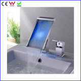China High Quality Self Powered 3 Color LED Basin Faucet (FD15064F)