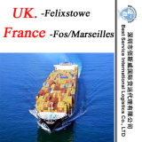 Shipping Agent Service Felixtowe (UK) ; Fos/Marseilles (France) - Container Shipment