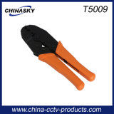 CCTV Coax Cable Hand Crimping Tool for BNC Connectors (T5009)