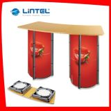 Folding Aluminum Advertising Promotion Table