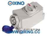 32A 3p Interlocked Receptacle Switch