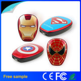 Portable Cartoon Avengers 6000mAh Power Bank