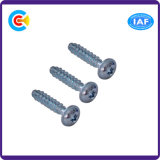 Stainless Steel Flower/Cinquefoil Flat Tail Pan Head Inch Self-Tapping Screw