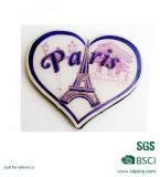 Custom Cheap Heart Shape Paper Fridge Magnet (XD-FM-08)
