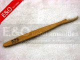100% Natural Bamboo Charcoal Toothbrush with Hot Logo