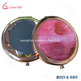 Factory Customized Logo Rose Gold Compact Pocket/Compact Mirror