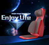 Back and Seat Massage Cushion with Kneading and Tapping Function