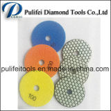 Hand Power Concrete Stone Machine Dry Flexible Polishing Pad