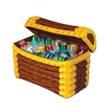 Family Party PVC Inflatable Gifts Box Cooler Bar for Party