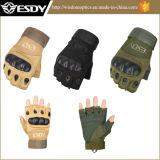 Outdoor Half Finger Combat Transformers Fingerless Protective Nylon Glove