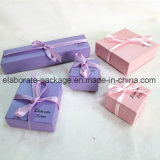 Lovely Colorful Mini Cardboard Jewelry Box Gift Package Box