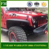 Black Steel Avengers Engine Hood Cover for Jeep Wrangler Jk 2007+