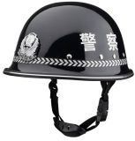 Wave Print Police Protection Safety Duty Helmet