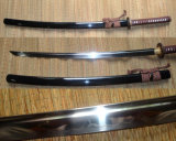 Handmade Dragon Tiger Katana Sword/Japanese Real Samurai Sword