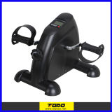 Black Pedal Exerciser Bike Fitness Exercise Cycle