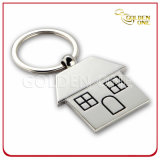 Custom House Shape Nickel Plated Metal Key Holder