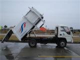 5cbm Isuzu Side Loading Garbage Truck with Waste Bin